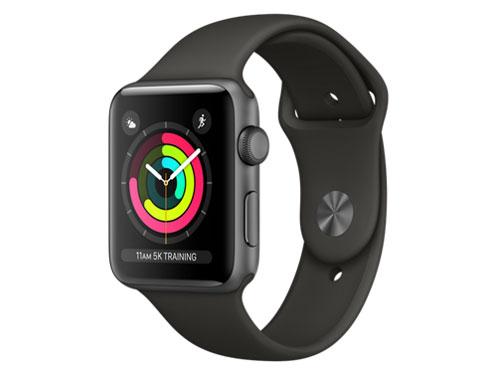 Apple Watch Series 3 GPSモデル 42mm MR362J/A [グレイスポーツバンド] の製品画像