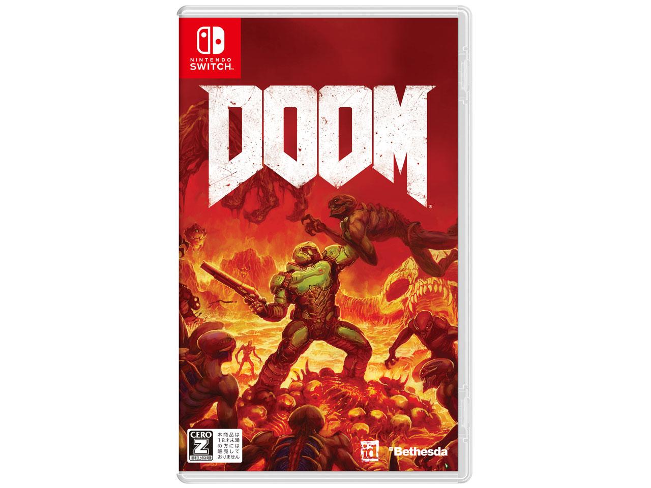 DOOM [Nintendo Switch] の製品画像