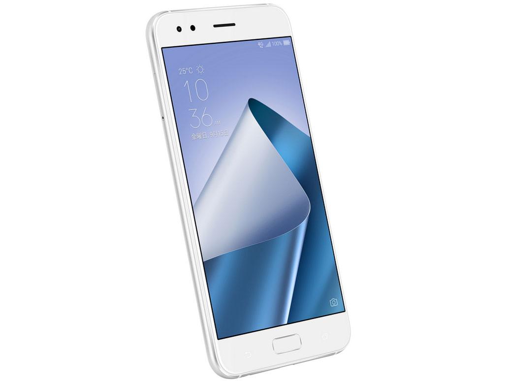 『本体1』 ZenFone 4 SIMフリー [ムーンライトホワイト] の製品画像