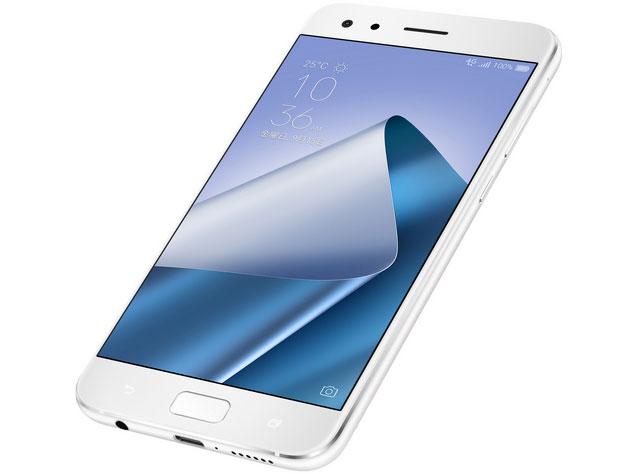 『本体1』 ZenFone 4 Pro SIMフリー [ムーンライトホワイト] の製品画像