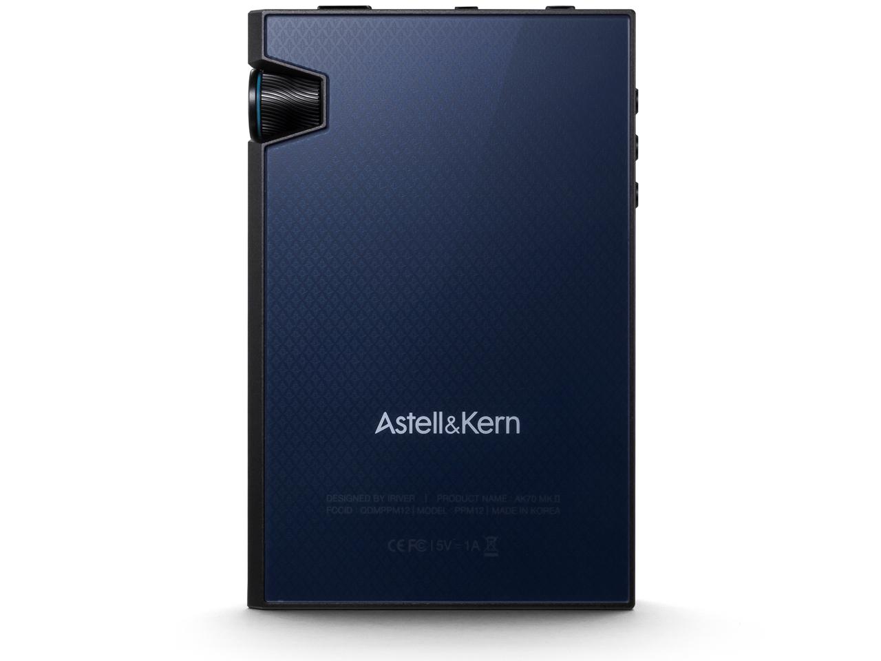 『本体 背面1』 Astell&Kern AK70 MKII AK70MKII-NB [64GB Noir Black] の製品画像