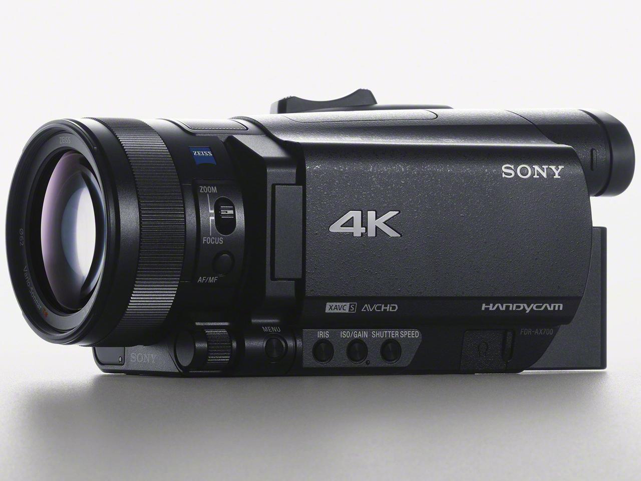 『本体 斜め3』 FDR-AX700 の製品画像