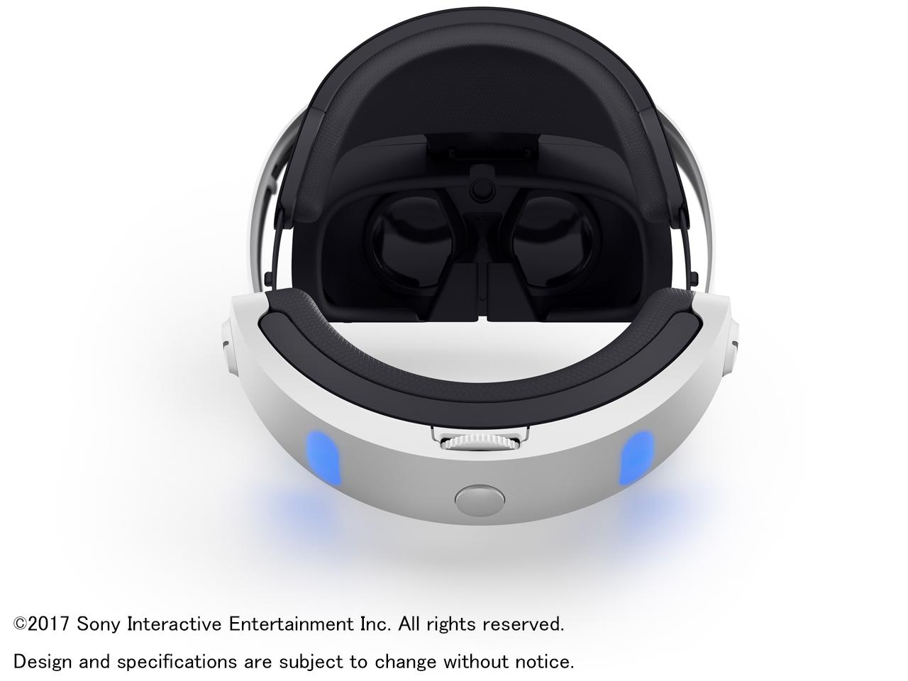 『本体 背面』 PlayStation VR PlayStation Camera同梱版 CUHJ-16003 の製品画像