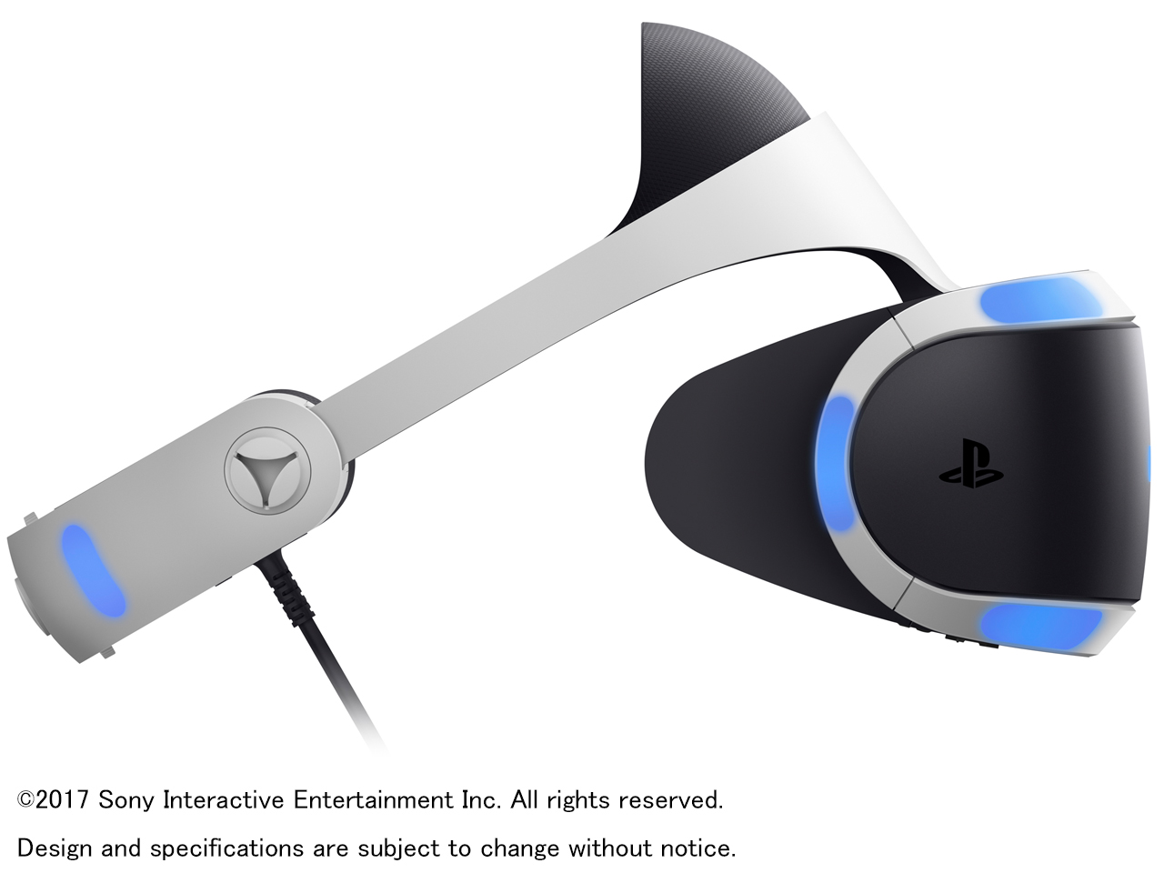 『本体 左側面』 PlayStation VR PlayStation Camera同梱版 CUHJ-16003 の製品画像