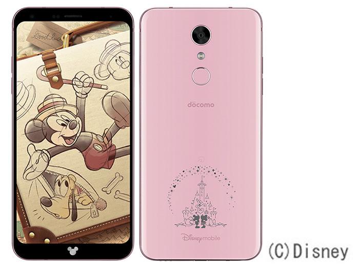 Disney Mobile on docomo DM-01K [Pink] の製品画像