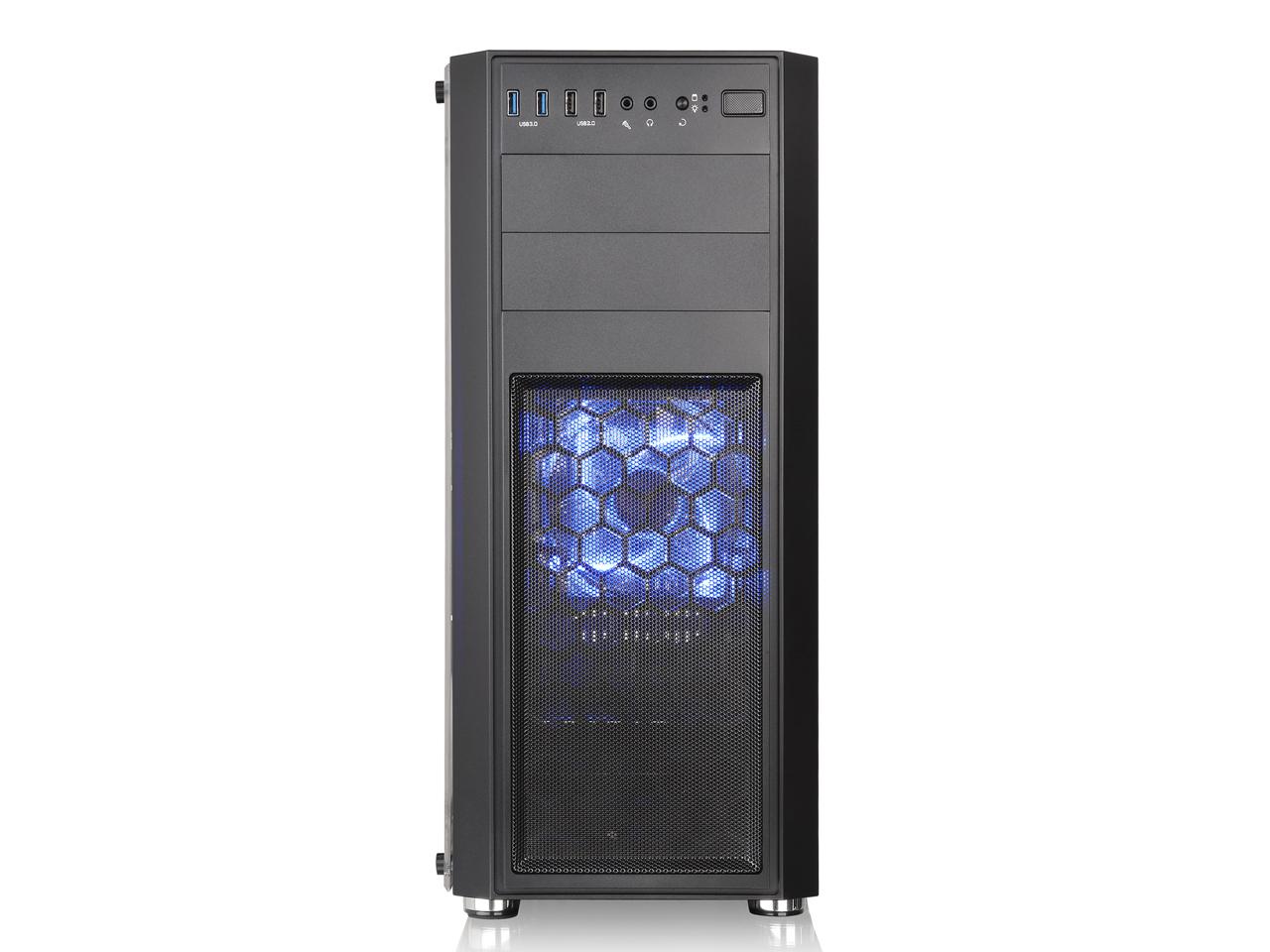 『本体 正面』 Versa H26 Black /w casefan CA-1J5-00M1WN-01 [ブラック] の製品画像