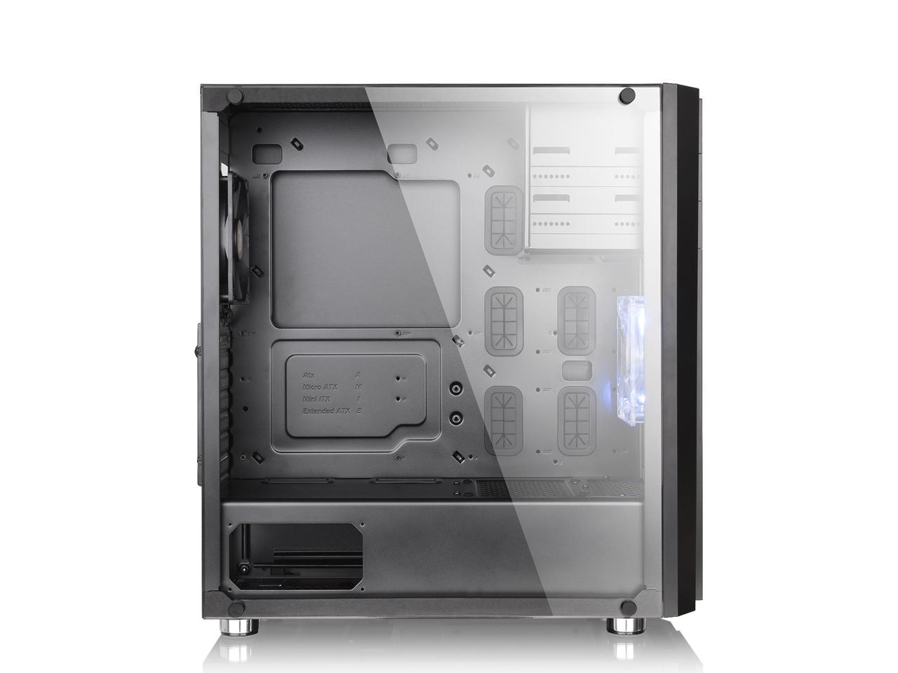 『本体 左側面』 Versa H26 Black /w casefan CA-1J5-00M1WN-01 [ブラック] の製品画像