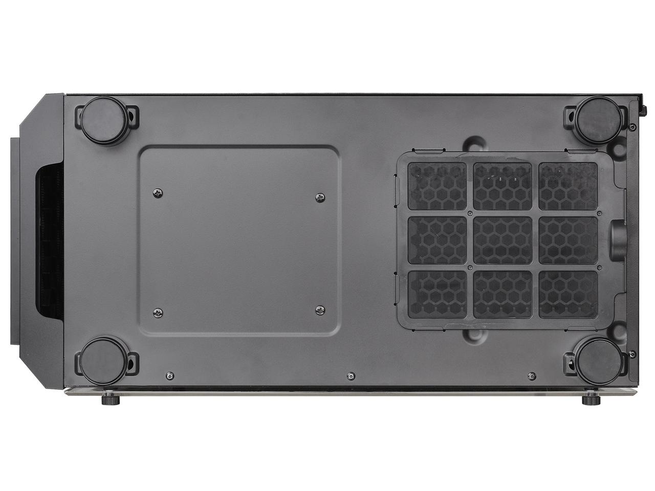 『本体 底面』 Versa H26 Black /w casefan CA-1J5-00M1WN-01 [ブラック] の製品画像