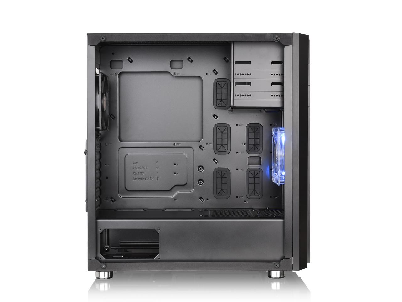 『本体 内部2』 Versa H26 Black /w casefan CA-1J5-00M1WN-01 [ブラック] の製品画像