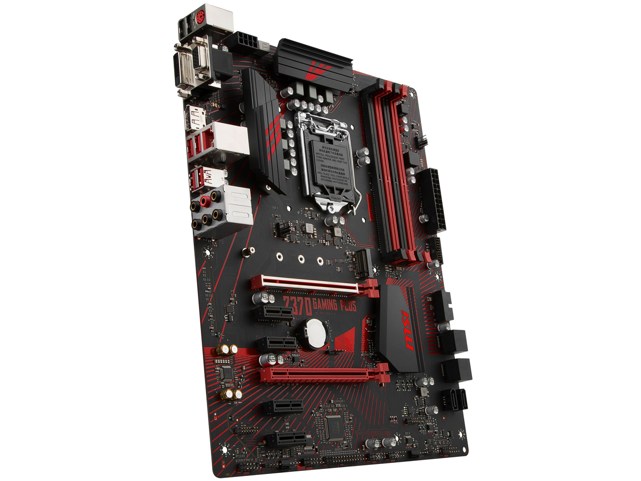 『本体3』 Z370 GAMING PLUS の製品画像