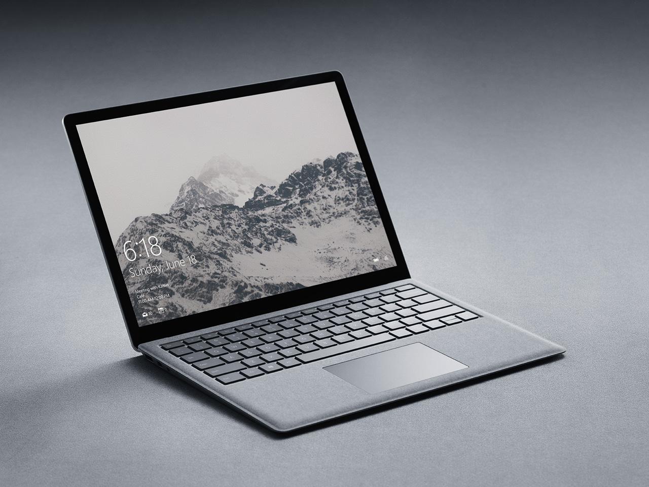 『本体 斜め2』 Surface Laptop EUP-00018 の製品画像