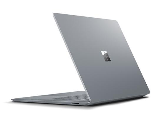 『本体 背面 斜め1』 Surface Laptop EUP-00018 の製品画像
