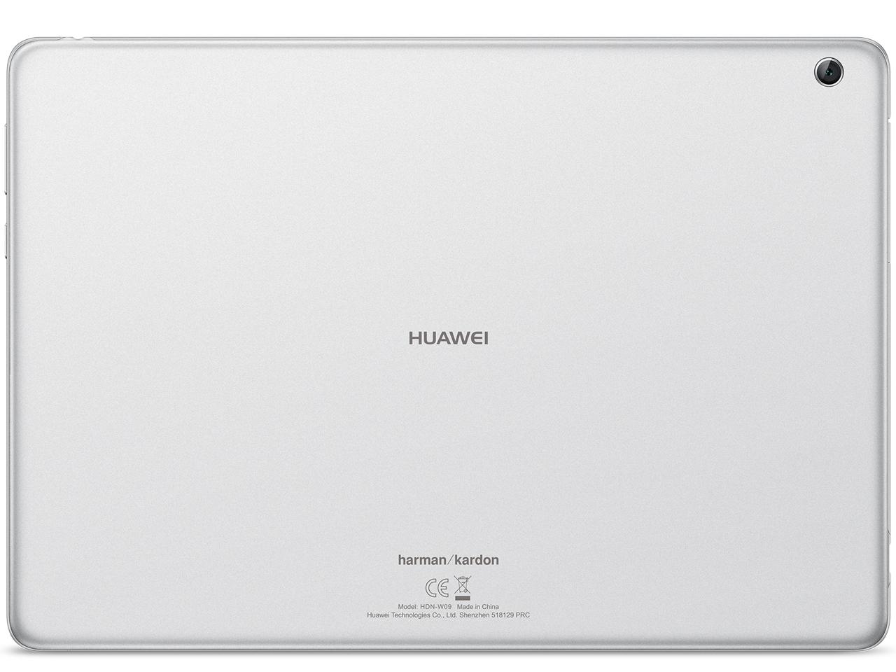 『本体 背面1』 MediaPad M3 Lite 10 wp Wi-Fiモデル の製品画像