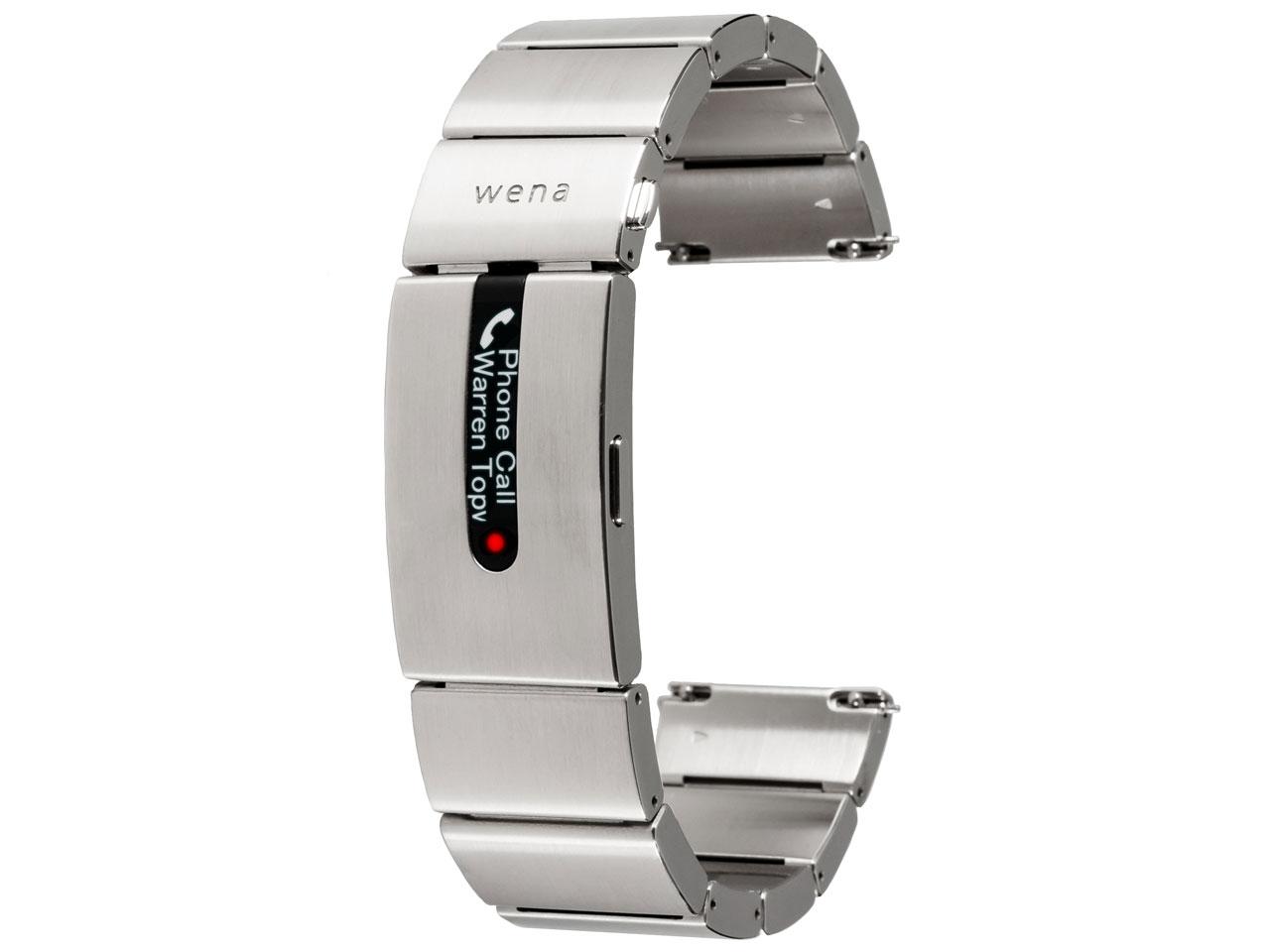 wena wrist pro WB-11A/S [シルバー] の製品画像