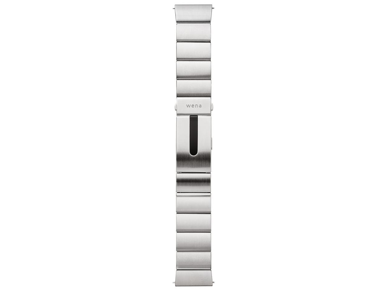 『本体』 wena wrist pro WB-11A/S [シルバー] の製品画像