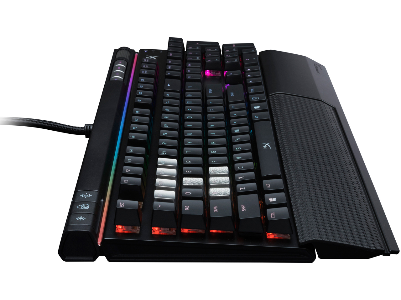 『本体5』 HyperX Alloy Elite RGB HX-KB2RD2-US/R1 赤軸 の製品画像