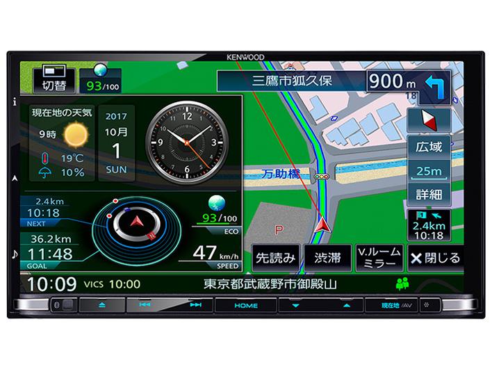 彩速ナビ MDV-Z905 の製品画像
