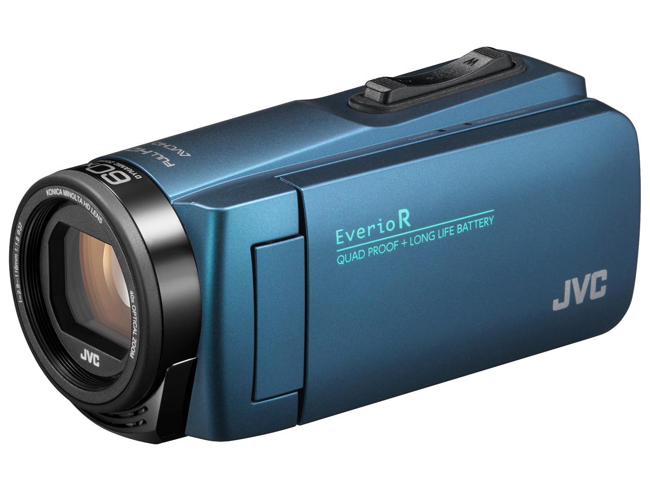 Everio R GZ-R480-A [ネイビーブルー] の製品画像