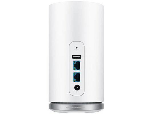 『本体 接続部分』 Speed Wi-Fi HOME L01s [ホワイト] の製品画像