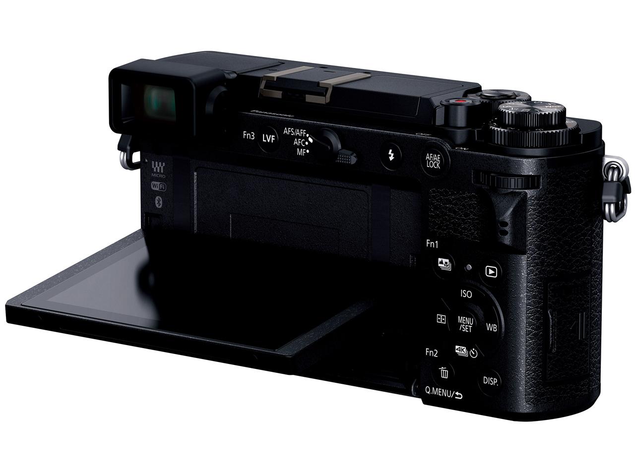 『本体 背面 バリアングル1』 LUMIX DC-GX7MK3-K ボディ [ブラック] の製品画像