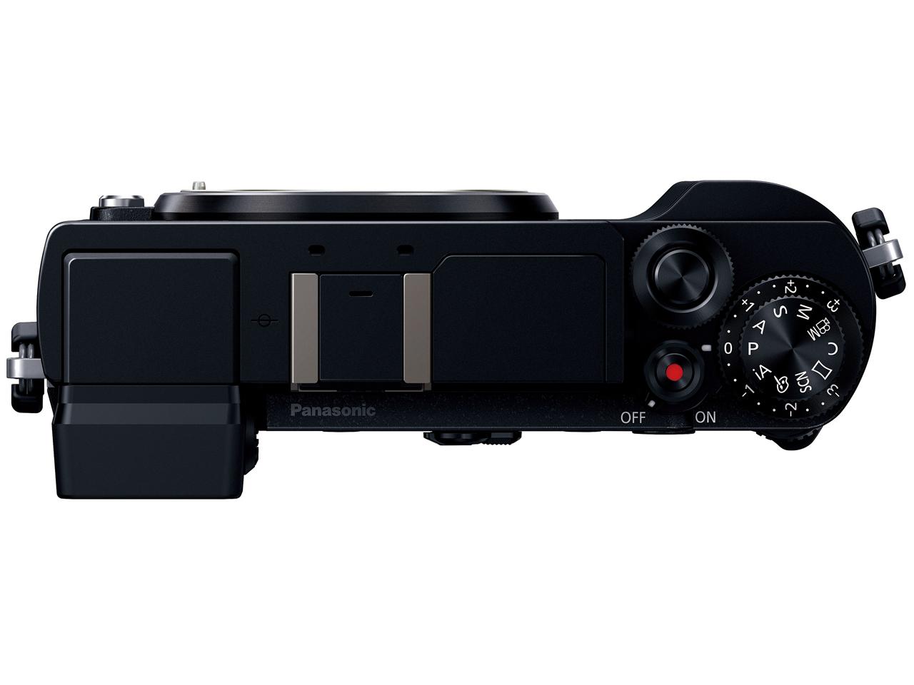 『本体 上面』 LUMIX DC-GX7MK3-K ボディ [ブラック] の製品画像