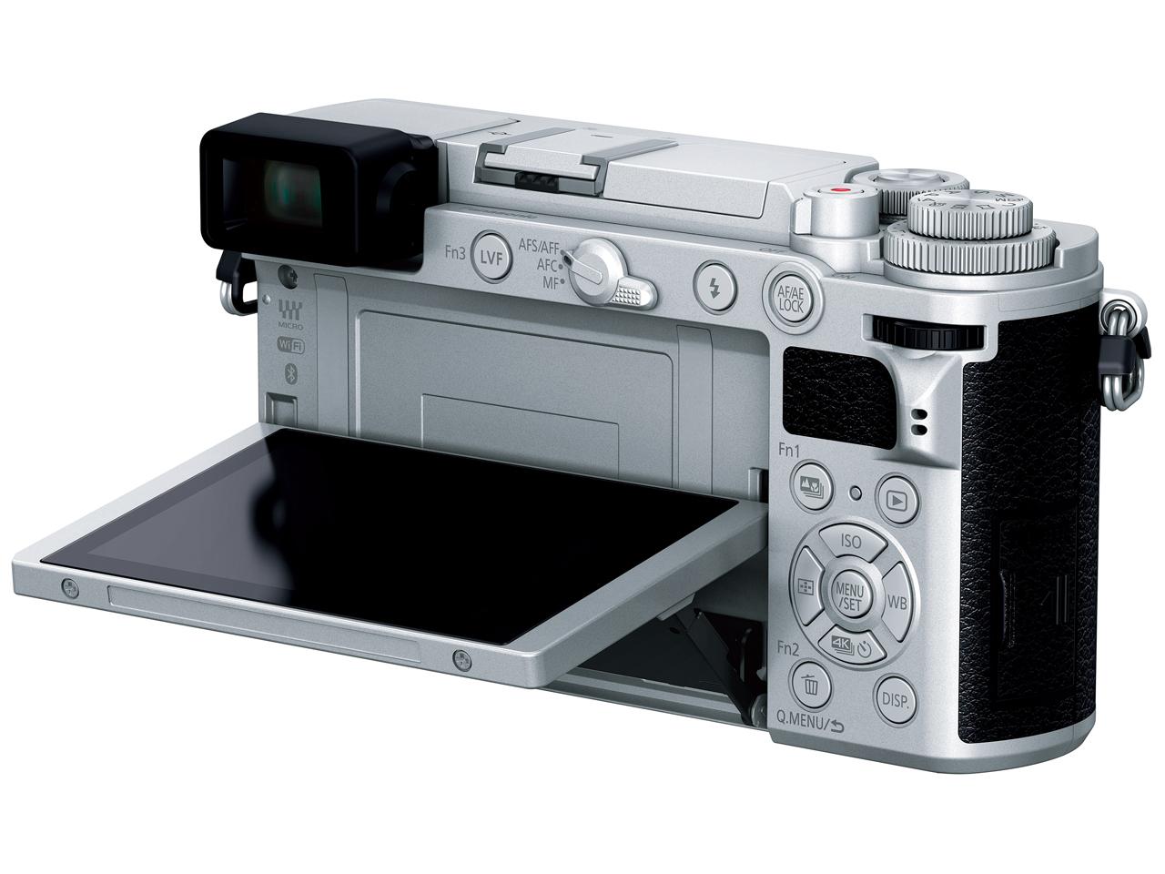『本体 背面 バリアングル1』 LUMIX DC-GX7MK3-S ボディ [シルバー] の製品画像