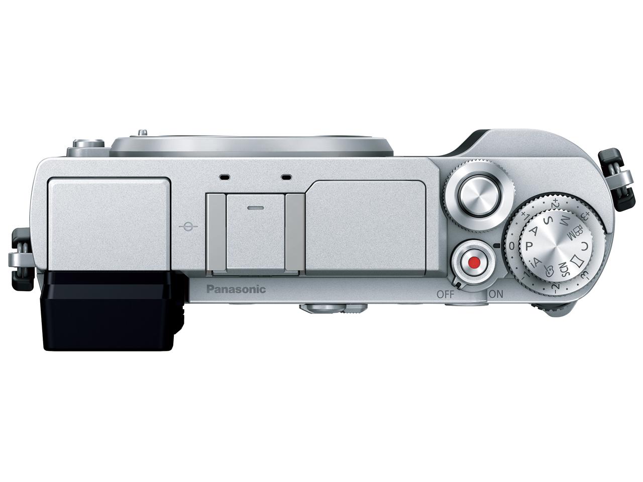 『本体 上面』 LUMIX DC-GX7MK3-S ボディ [シルバー] の製品画像