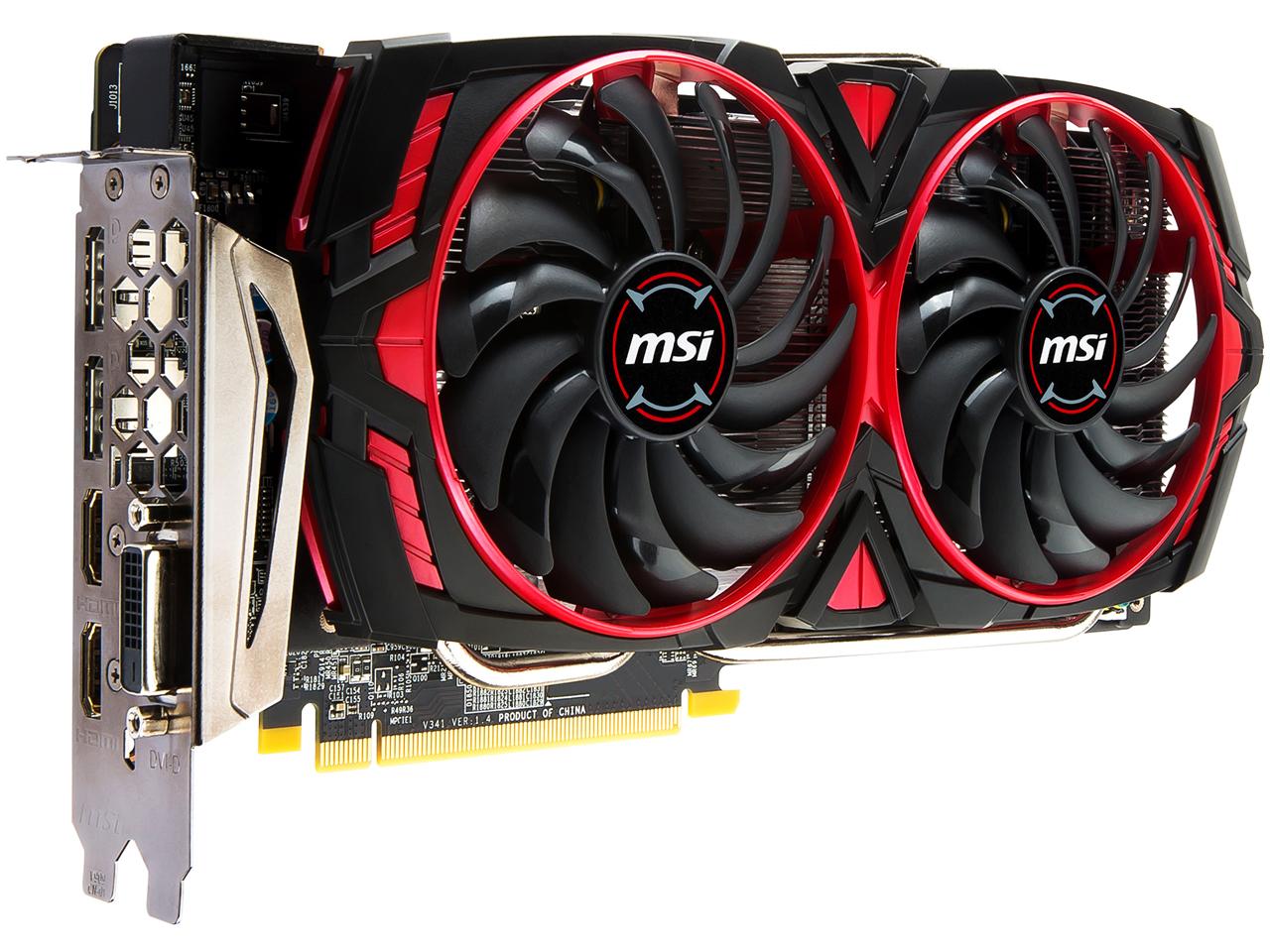 『本体4』 Radeon RX 580 ARMOR MK2 8G OC [PCIExp 8GB] の製品画像