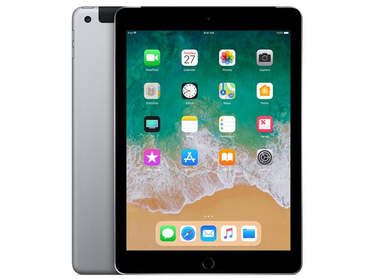 iPad 9.7インチ Wi-Fi+Cellularモデル 32GB docomo [スペースグレイ] の製品画像