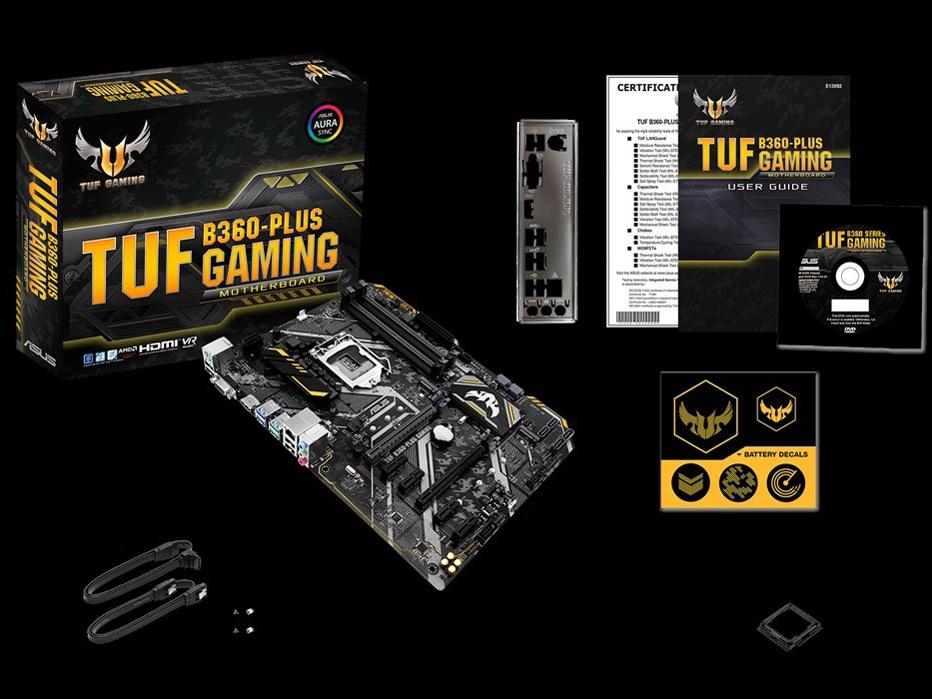 『セット内容』 TUF B360-PLUS GAMING の製品画像