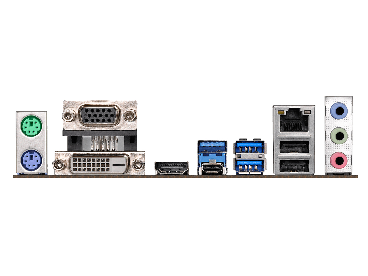 『本体 接続部分』 H370M Pro4 の製品画像