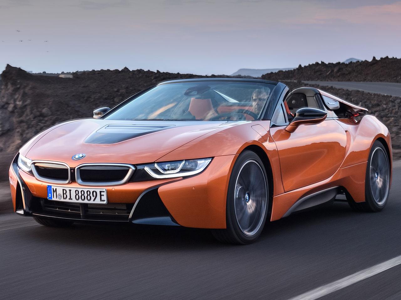 BMW i8 ロードスター 2018年モデル 新車画像