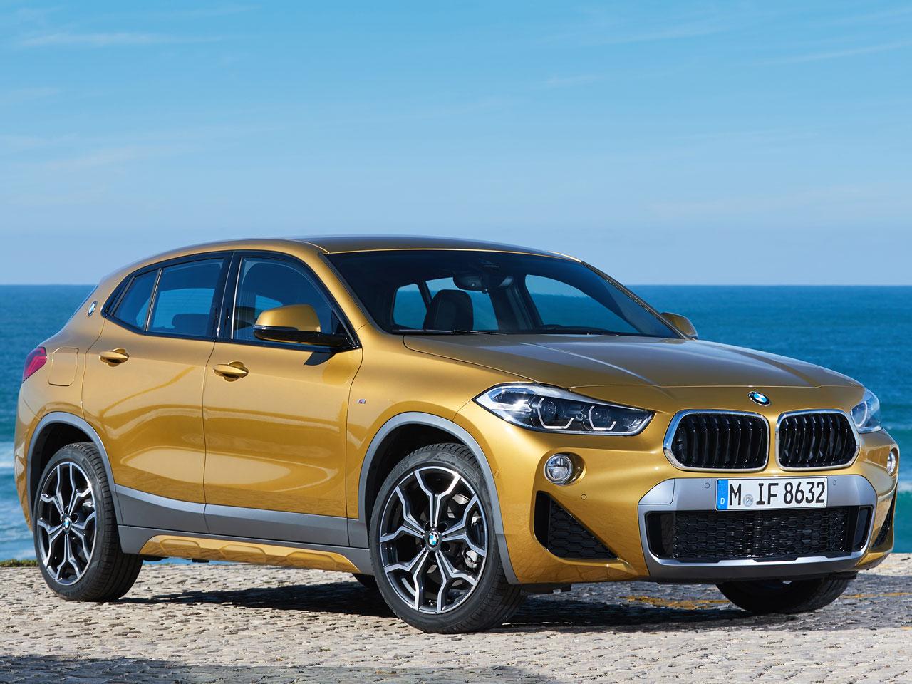 BMW X2 2018年モデル 新車画像