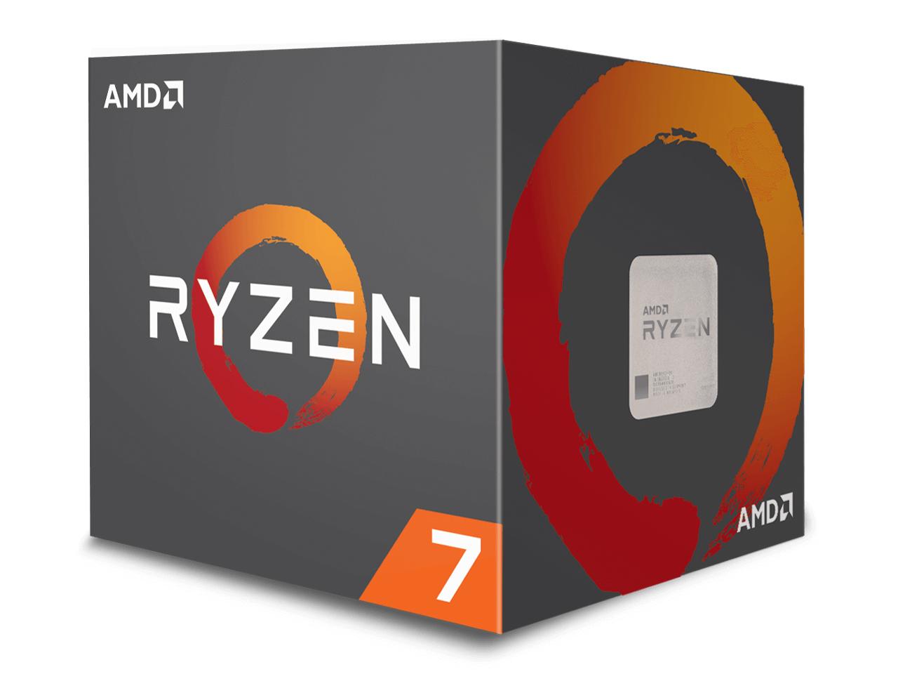 Ryzen 7 2700X BOX の製品画像
