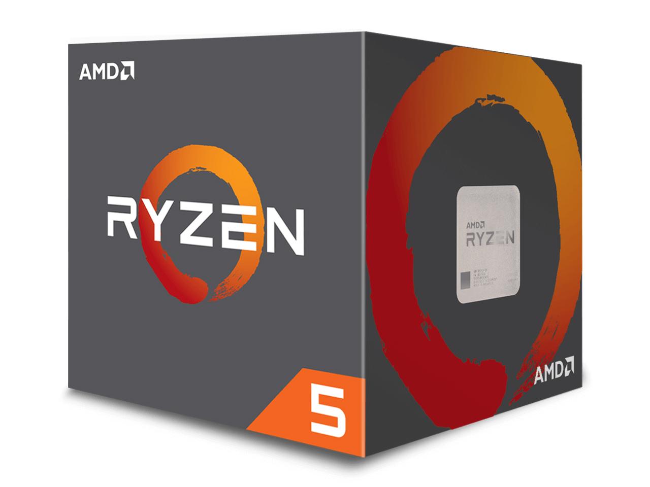 Ryzen 5 2600X BOX の製品画像