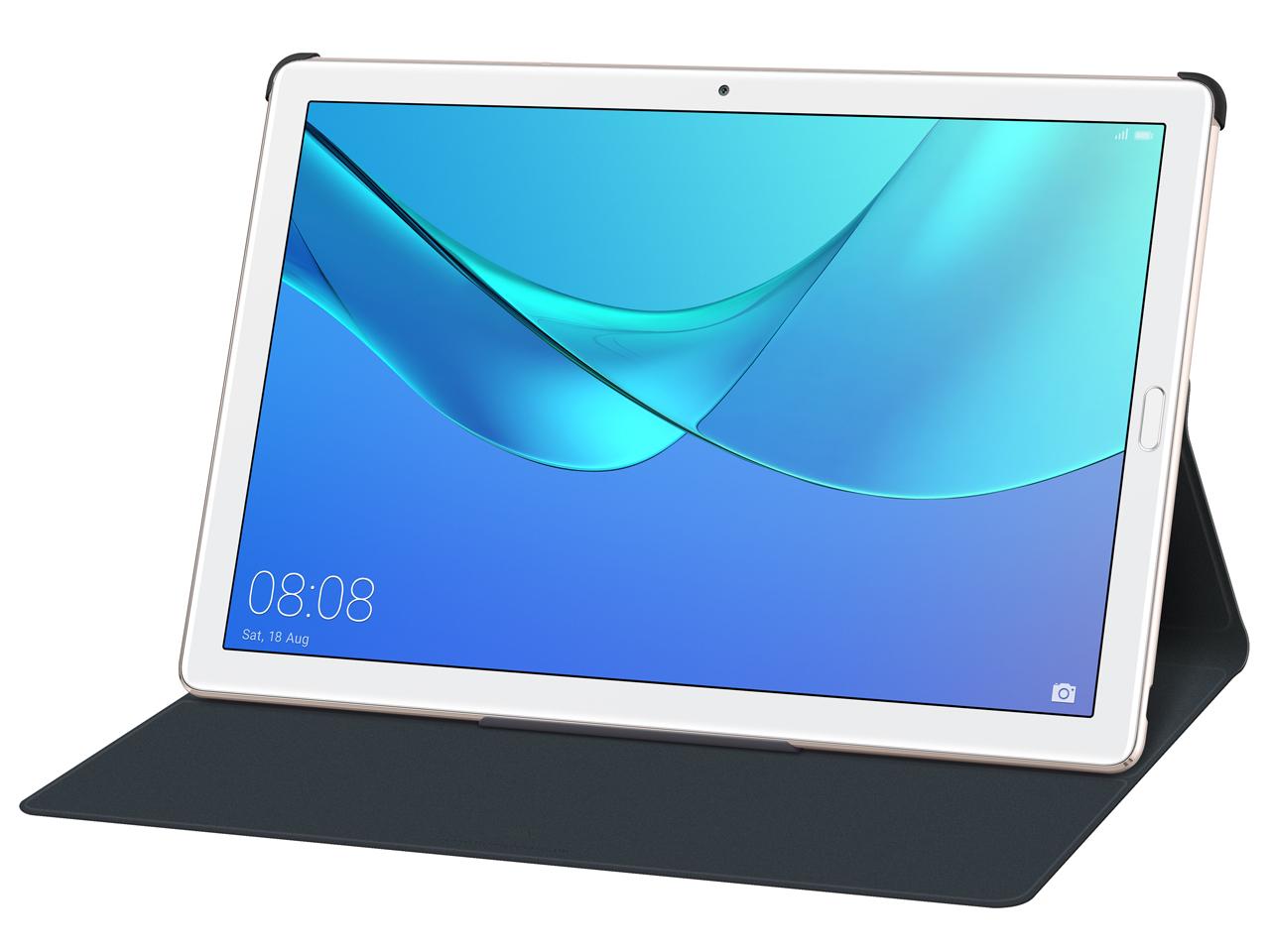 『本体 オリジナルスマートカバー装着時3』 MediaPad M5 Pro Wi-Fiモデル CMR-W19 の製品画像