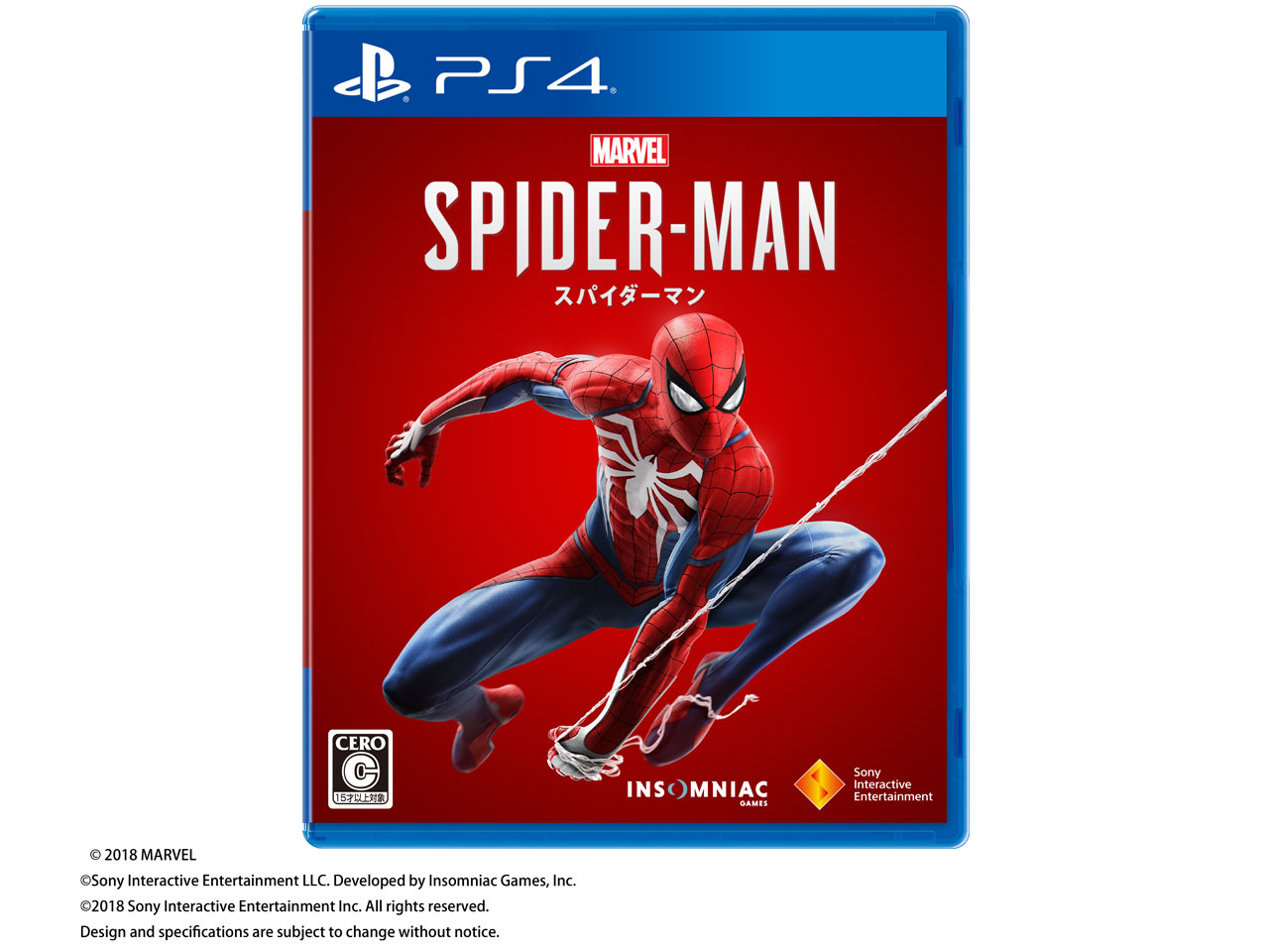 Marvel's Spider-Man [PS4] の製品画像