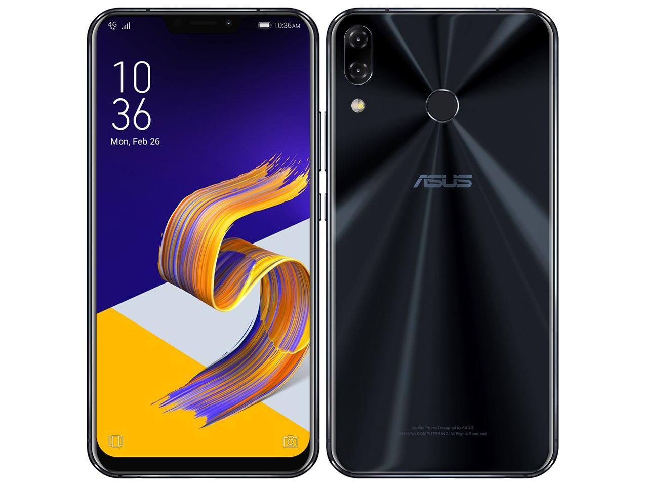 ZenFone 5Z SIMフリー [シャイニーブラック] の製品画像