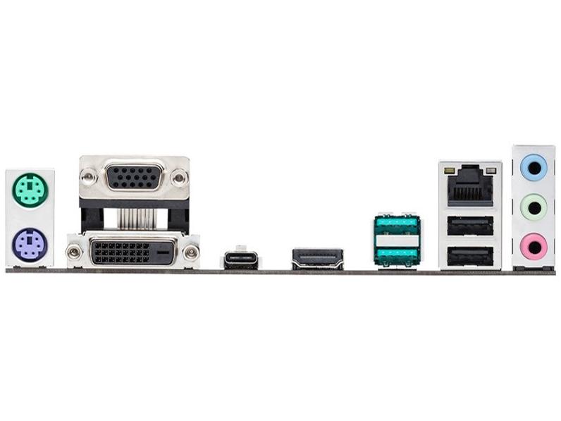 『本体 接続部分』 PRIME B360M-A/CSM の製品画像
