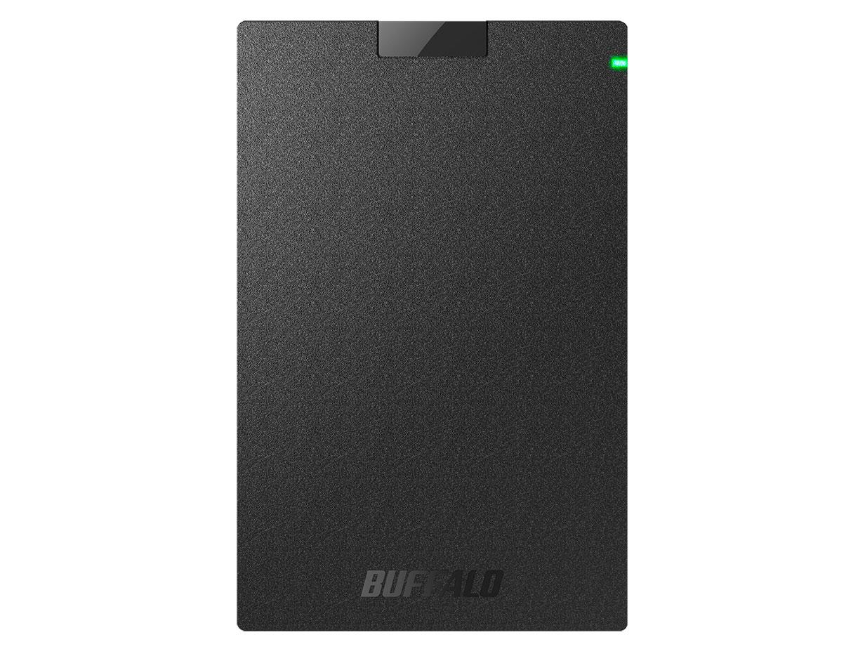MiniStation HD-PCG1.0U3-BBA [ブラック] の製品画像