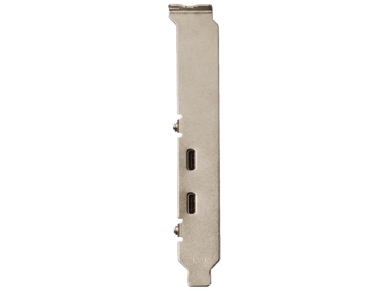 『本体 接続部分2』 USB3.1C-P2-PCIE [USB3.1] の製品画像