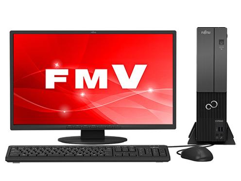 『本体 正面』 FMV ESPRIMO DHシリーズ WD2/C2 KC_WD2C2_A057 Core i7・メモリ32GB・SSD 1TB+HDD 3TB・Blu-ray・21.5型液晶・Office搭載モデル の製品画像