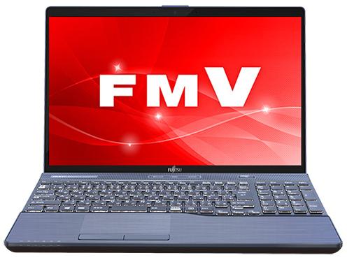 『本体 正面』 FMV LIFEBOOK AHシリーズ WA3/C2 KC_WA3C2_A052 Core i7・メモリ16GB・SSD 128GB+HDD 1TB・Office搭載モデル の製品画像