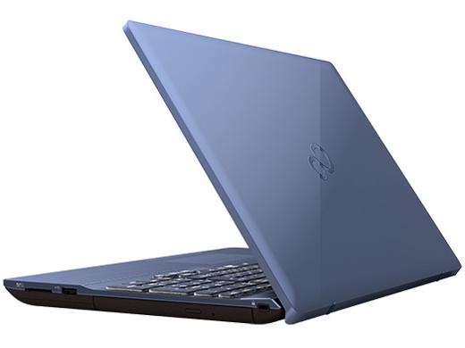 『本体 背面 斜め』 FMV LIFEBOOK AHシリーズ WA3/C2 KC_WA3C2_A052 Core i7・メモリ16GB・SSD 128GB+HDD 1TB・Office搭載モデル の製品画像
