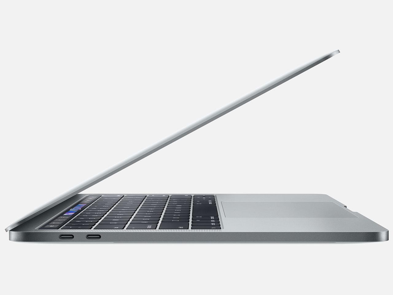 『本体 左側面2』 MacBook Pro Retinaディスプレイ 2300/13.3 MR9Q2J/A [スペースグレイ] の製品画像