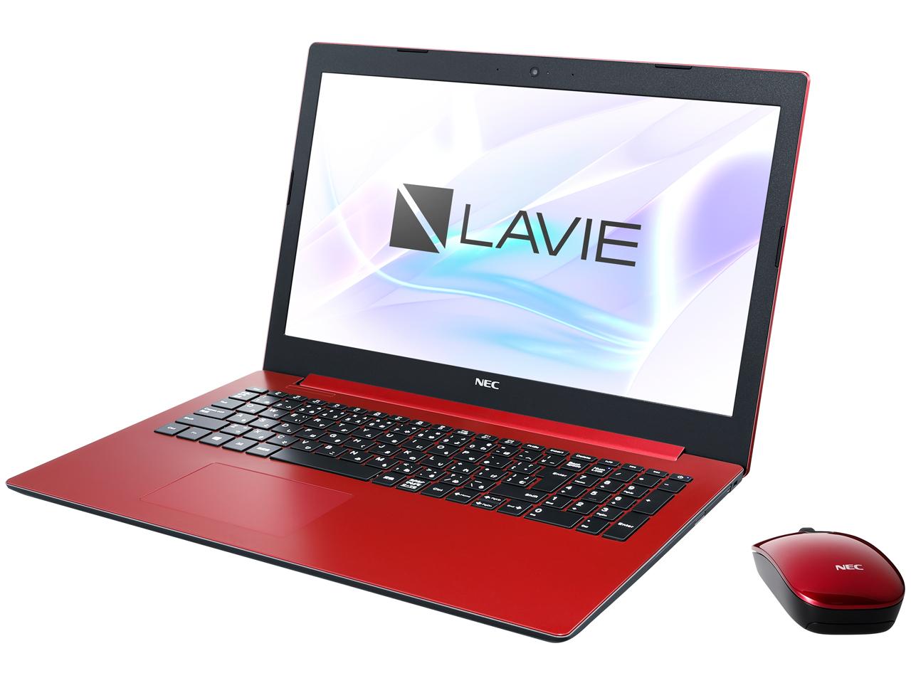 LAVIE Note Standard NS150/KAR PC-NS150KAR [カームレッド]