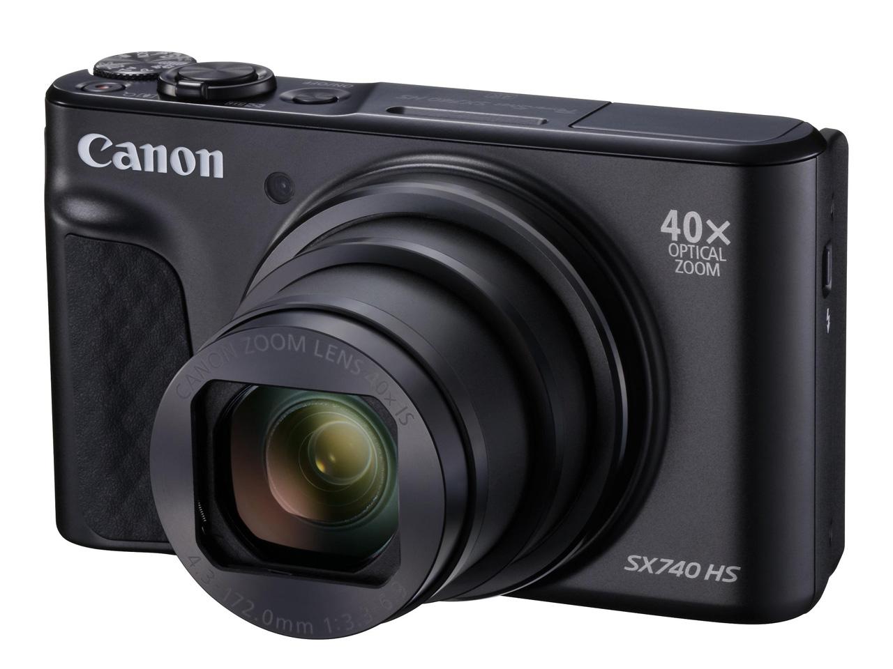 PowerShot SX740 HS [ブラック] の製品画像