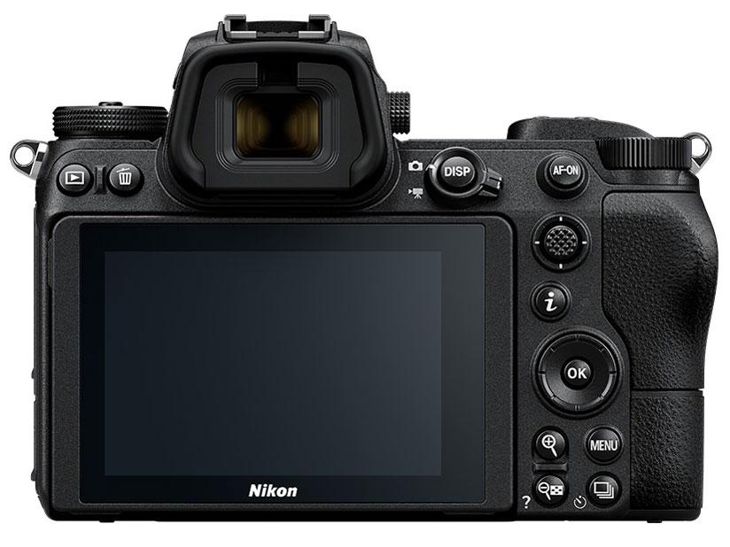 『本体 背面』 Z 7 24-70 レンズキット の製品画像