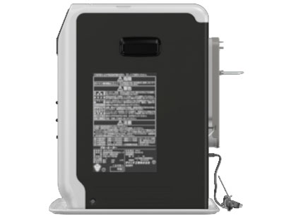『本体 右側面』 FW-5718SGX(W) [クールホワイト] の製品画像