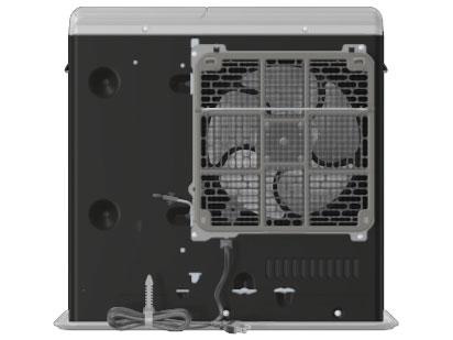 『本体 背面』 FW-5718SGX(W) [クールホワイト] の製品画像